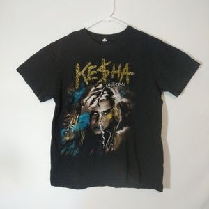 Tops - Kesha Cannibal 2011 Tour T shirt large Get Sleezy